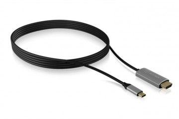 adapterji ICY BOX  Icybox kabel iz USB-C na HDMI s podporo za 4k@60Hz