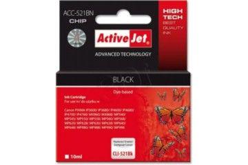 Kartuše ActiveJet  ActiveJer črno črnilo Canon CLI-521Bk - ACC-521BN