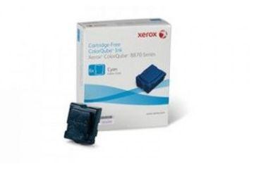 Kartuše XEROX CQUBE 8870 INK HI-CYAN 17.3k
