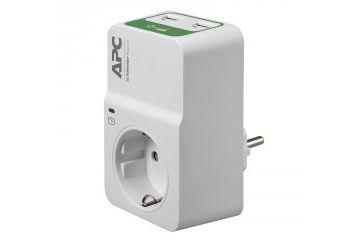 UPS napajanje APC  APC Essential SurgeArrest PM1WU2-GR 1x Schuko prenapetostna zaščita