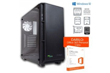 Namizni računalniki PCplus   PCPLUS Dream machine i7-8700 16GB 240GB SSD + 2TB GTX1060 6GB Windows 10 Home namizni gaming računalnik + darilo: 1 leto Office 365 Personal