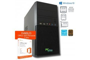 Namizni računalniki PCplus   PCPLUS e-office i3-7100 8GB 240GB RX550 4GB  Windows 10 Home namizni računalnik + darilo: 1 leto Office 365 Personal