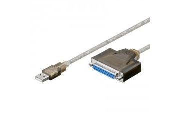 adapterji Goobay  GOOBAY 1,5m USB / D-SUB 25-pin paralelni kabel za tiskalnik