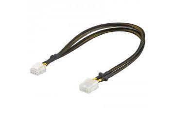 Gamepadi Goobay  GOOBAY PCI-E/PCI Express 8-pin na PCIe ženski (8 pin) 0,44m razširitveni kabel za grafične kartice