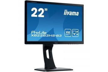 LCD monitorji IIYAMA  IIYAMA PROLITE XB2283HS-B3 54,7 cm (21,5') FHD VA LED VGA/HDMI/DP zvočniki monitor