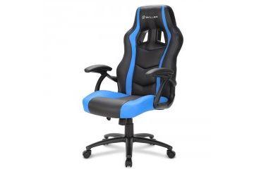 oprema   SHARKOON SKILLER SGS1 črn/moder gaming stol