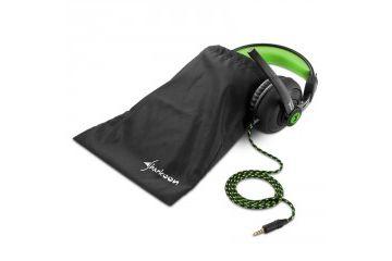 Slušalke   SHARKOON RUSH ER2 črno/zelene gaming slušalke
