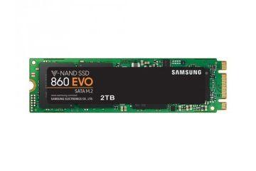 SSD diski Samsung  SSD 2TB M.2 80mm SATA3 V-NAND TLC, Samsung 860 EVO