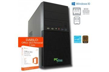 Namizni računalniki PCplus   PCPLUS e-office i3-8100 4GB 240GB SSD Windows 10 Home namizni računalnik + darilo: 1 leto Office 365 Personal