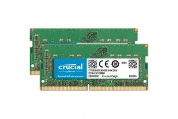 Pomnilnik CRUCIAL  RAM SODIMM DDR4 16GB Kit (2x 8) PC4-19200 2400MT/s CL17 SR x8 Crucial for Mac