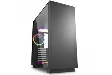 PC Ohišja SHARKOON  SHARKOON Pure Steel midiATX RGB črno ohišje