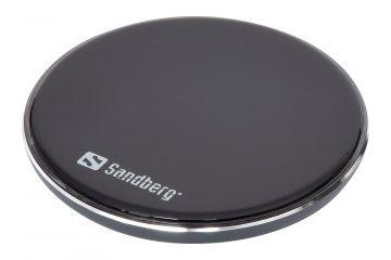 Dodatki Sandberg  Sandberg aluminijasti Qi brezžični polnilnik 10W