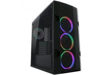 PC Ohišja LC Power  LC POWER Gaming 998B - Rambot midiATX okno RGB črno ohišje