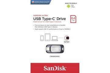 USB spominski mediji CRUCIAL  SANUS-64GB_ULTRA_C_E