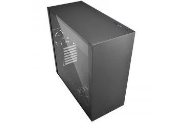 PC Ohišja SHARKOON  SHARKOON Pure Steel midiATX črno ohišje
