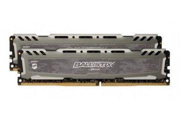 Pomnilnik CRUCIAL  RAM DDR4 16GB Kit (2x 8) PC4-19200 2400MT/s CL16 DR x8 1.2V Crucial BX Sport LT