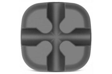 kabli Orico  Samolepljivo držalo za kable, silikon, črno, ORICO CBSX-BK
