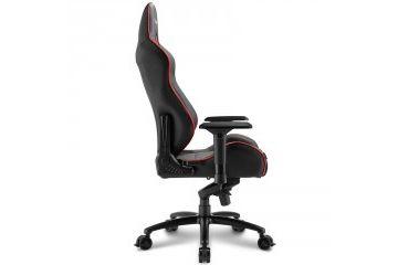 oprema SHARKOON  SHARKOON SKILLER SGS3 črn/rdeč gaming stol