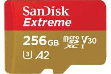 Spominske kartice SanDisk  SANMC-256_MICROSDXC