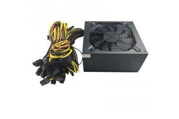 oprema Sestavi.si Napajalnik ATX Mining 2000W Gold, 16x PCIe 6+2pin