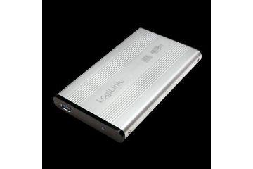 ohišja Logitech Zunanje ohišje HDD 2,5'' USB 3.0 SATA, Alu srebrn, Logilink UA0106-A