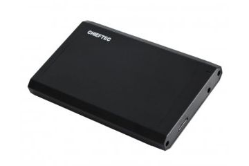 PC Ohišja   Chieftec CEB-2511-U3 zunanje ohišje, 2.5' SATA, USB 3.0, črno