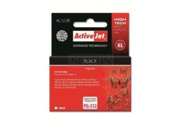 Tonerji   ActiveJet črno črnilo Canon PG-512