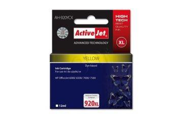Tonerji ActiveJet  ActiveJet rumeno črnilo HP 920 XL - AH-920YCX