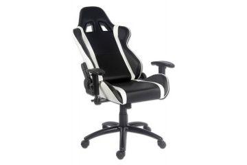 oprema LC Power LC-POWER LC-GC-2 bel/črn gaming stol