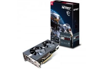 Grafične kartice Sapphire  SAPPHIRE Nitro+ Radeon RX 570 OC 8GB GDDR5 (11266-09-20G) lite grafična kartica