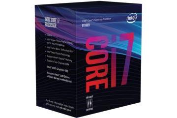 Procesorji Intel  Intel Core i7 8700K BOX procesor, Coffee Lake