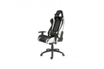 oprema LC Power LC-POWER LC-GC-2 bel/črn gaming stol