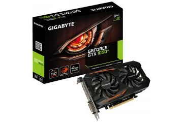 Grafične kartice Gigabyte  GIGABYTE Windforce 2X GeForce GTX 1050 Ti OC 4GB GDDR5 (GV-N105TOC-4GB) grafična kartica
