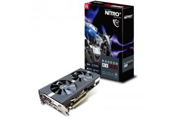Grafične kartice Sapphire  SAPPHIRE Nitro+ Radeon RX 580 OC 8GB GDDR5 (11265-01-20G) lite grafična kartica