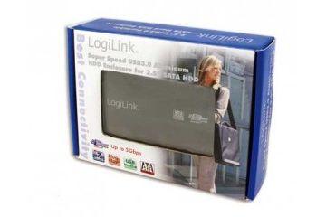 ohišja  LOGILINK Zunanje ohišje HDD 2,5'' USB 3.0 SATA, Alu črn, Logilink UA0106