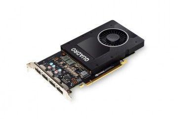 Grafične kartice PNY  Grafična kartica Quadro P2000, 5GB GDDR5, PCIe 3.0 x16, 4x DP - DVI-D, PNY