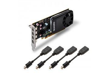 Grafične kartice PNY  Grafična kartica Quadro P600, 2GB GDDR5, PCIe 3.0 x16, 4x mDP, Low Profile, PNY