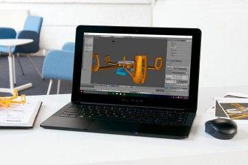 Prenosni računalniki RAZER  Prenosnik Razer Blade Stealth 13,3'' QHD+ IGZO Touch, i7-8550U, 16GB, 256GB PCIe SSD, Win10