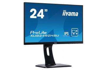 LCD monitorji IIYAMA  IIYAMA ProLite XUB2492HSU-B1 60,5cm (23,8') FHD IPS HDMI/DP zvočniki LED LCD monitor
