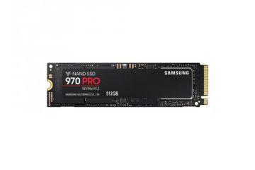 SSD diski Samsung  SSD 512GB M.2 80mm PCI-e 3.0 x4 NVMe, MLC V-NAND, Samsung 970 PRO MZ-V7P512BW