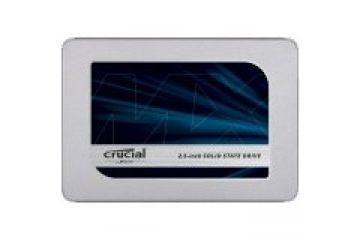 SSD diski CRUCIAL  Crucial SSD MX500 1TB, 6,35cm, 64-layer 3D NAND, R: 560 MB/s, W: 510 MB/s