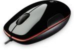 Miške Logitech  Miška Logitech M150 Laser Mouse, črno rdeča