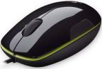 Miške Logitech  Miška Logitech M150 Laser Mouse, črno zelena