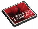 Spominske kartice Kingston  KINGSTON Compact Flash Ultimate 266x 32GB CF/32GB-U2 spominska kartica