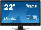 LCD monitorji IIYAMA  IIYAMA ProLite E2278HD-GB1 55cm (21,5') FHD LED LCD monitor
