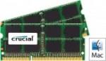 Pomnilnik CRUCIAL  CRUCIAL 16GB Kit (8GBx2) DDR3L 1333 PC3-10600 CL9 SODIMM za prenosnike in Mac - CT2C8G3S1339MCEU