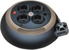 Dodatki za UPS Brennenstuhl  Cable box Design črn, 3m, 4x šuko, H05VV-F 3x 1,5 mm2, Brennenstuhl