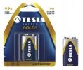 Baterije in polnilci TESLA 1506 TESLA BATERIJA - 9V GOLD+ BLISTER  1 KOS (6LR61)