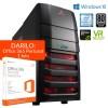 Namizni računalniki PCplus   PCPLUS Dream machine i7-7700 16GB 240GB SSD 2TB GTX1070 Windows 10 namizni gaming računalnik + darilo: 1 leto Office 365 Personal