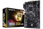 Osnovne plošče Gigabyte  GIGABYTE GA-H110-D3A MINING, DDR4, SATA3, VGA, USB3.1, LGA1151 ATX